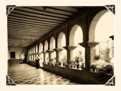Hospital San Lázaro Patio